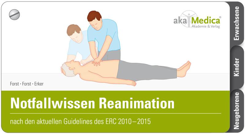 Fächer Notfallwissen Reanimation