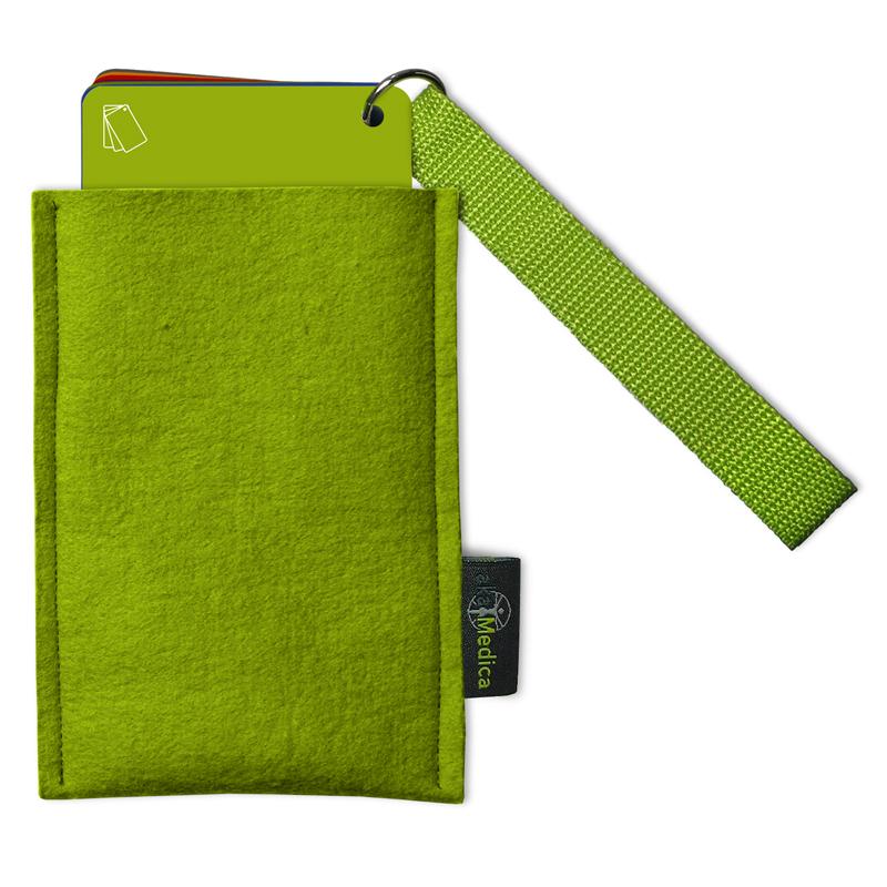 Filztasche für Elternbegleiter und Notfallbegleiter